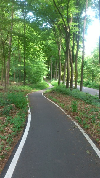 Groesbeek to Mook cycle path