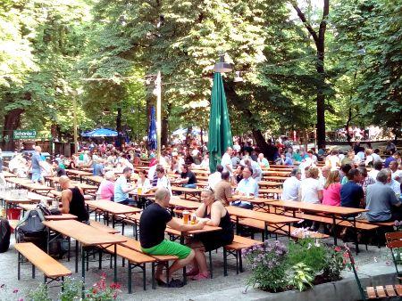 Wirtsgarten Munich Germany