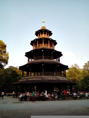 Chinese Tower in the English Garden