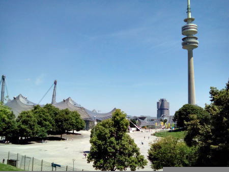 The Munich Olympic Stadium