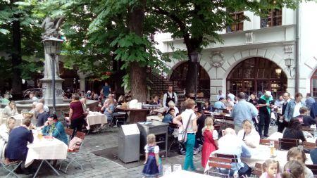 Munich Munchen Hofbrauhaus