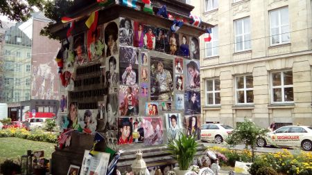 Munich Munchen Michael Jackson Memorial