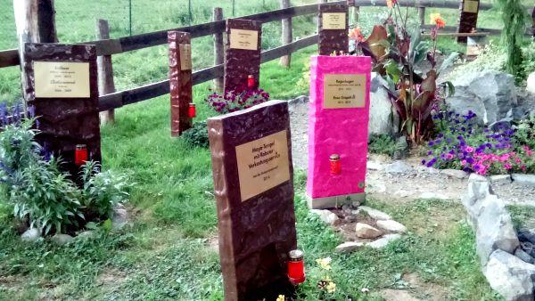 Chocolate graveyard at Zotter.