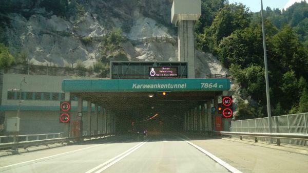 Karawankentunnel Slovenia