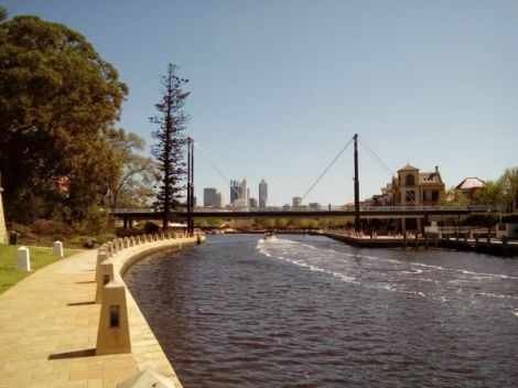 Perth Australia Claisebrook Cove