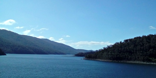 Thomson Dam in the Great Dividing Range