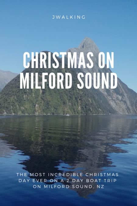 Christmas on Milford Sound