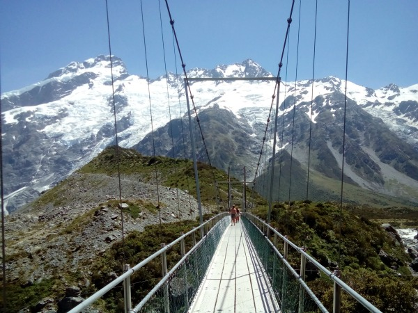 Mount Cook New Zealand JWalking