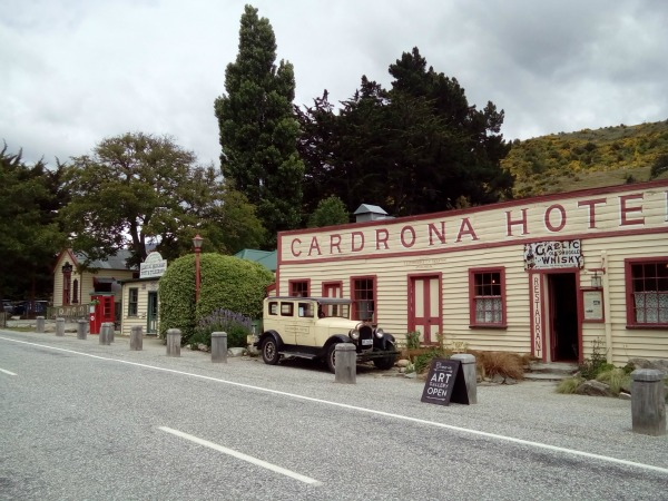 The Cardrona Hotel on Crown Range Road