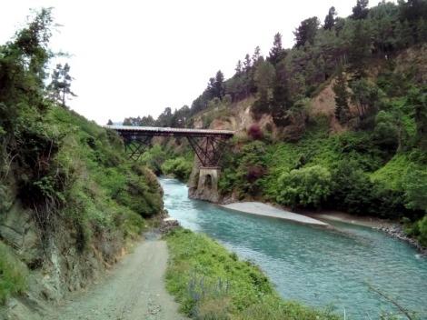Bridge over the Waiau River