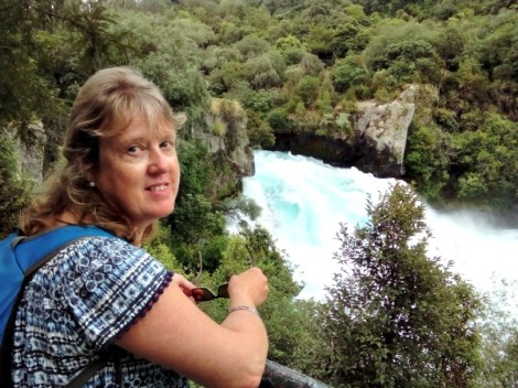Huka Falls on the Waikato River