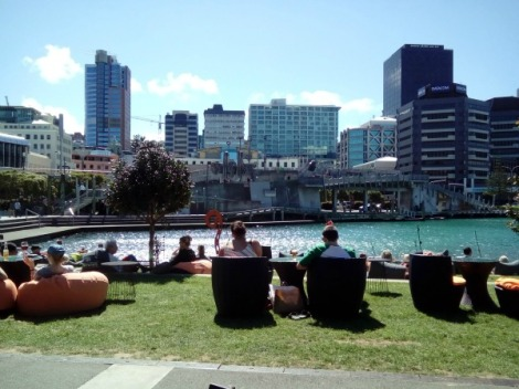 The Karaka Bar on the waterfront