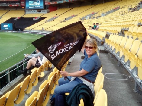 Come on you Blackcaps!