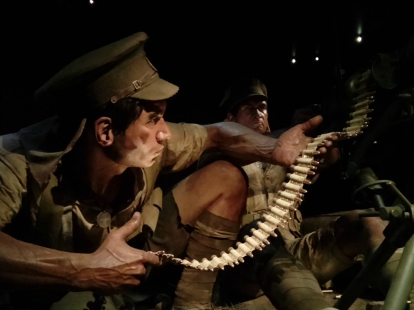 Weta Workshops Gallipoli models at Te Papa