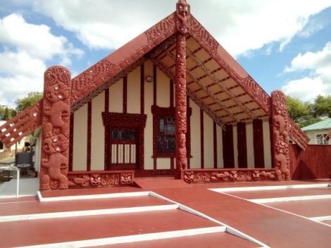 Maori Hall in Rotorua