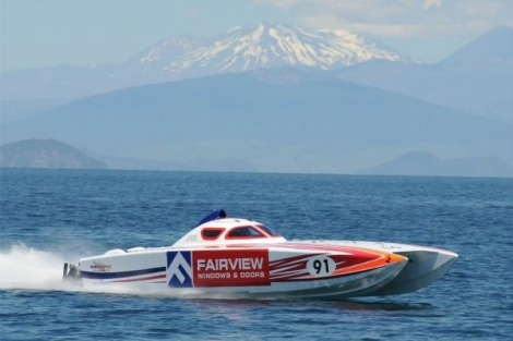 Thunder on the Lake 2016 from Lake Taupo