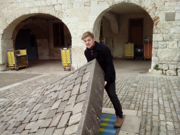 Ryan lifting Pavement