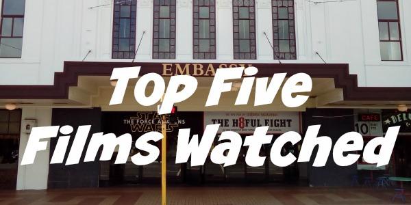 JWalking Top Five Films