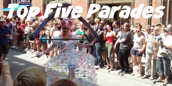 JWalking Top Five Parades