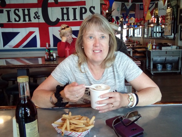 Clam Chowder at the Hook on Pier 39