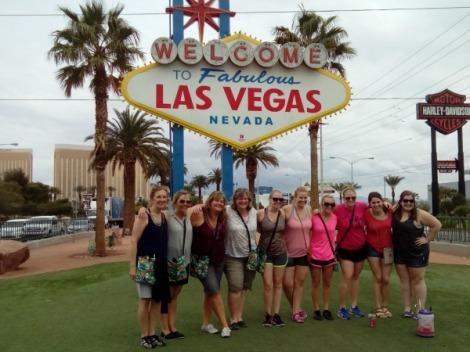 Las Vegas Sign Ladies