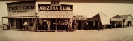 Early Vegas bar, The famous Arizona Club.