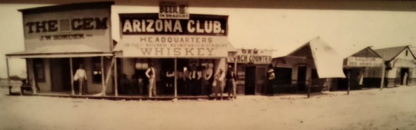 Early Vegas bar, The famous Arizona Club.