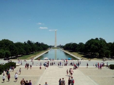 The Washington Mall Reflecting Pool