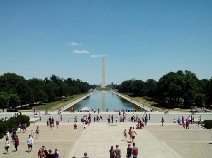 The Washington Mall Reflecting Pool