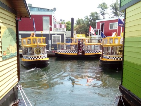Water Taxi Gridlock