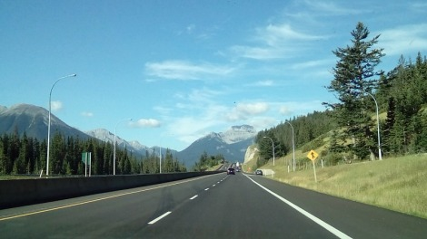 Road to Banff