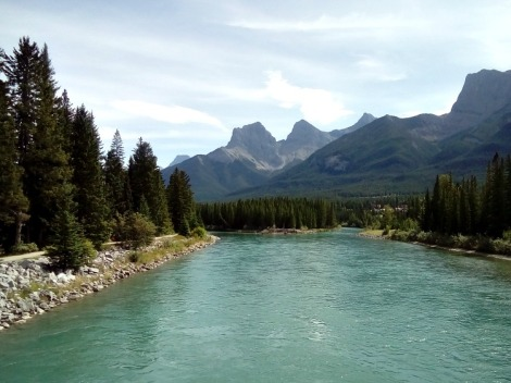Canmore Bow River