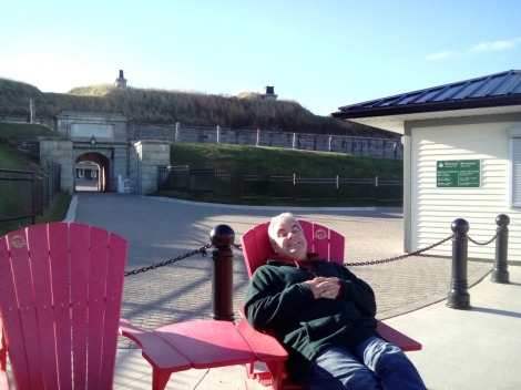 More relaxing at the Citadel
