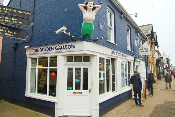 Golden Galleon Fish Chip Aldeburgh