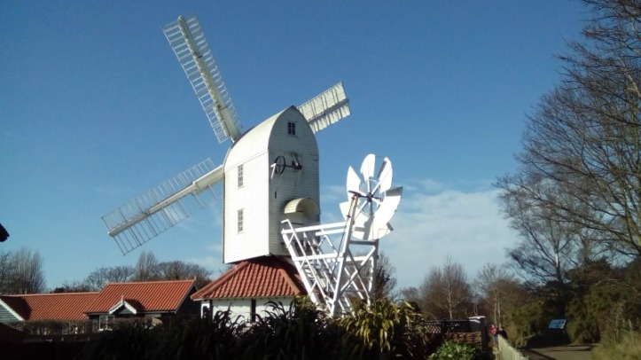 The windmill at Thorpeness Golf Club