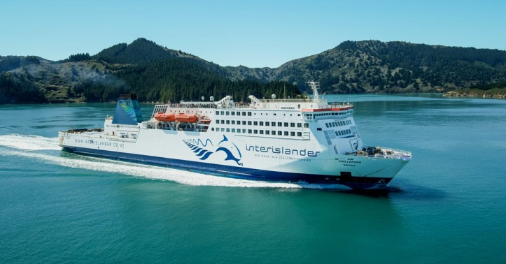 InterIslander Ferry Wellington Picton