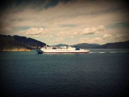 Interislander ferry Welllington Picton