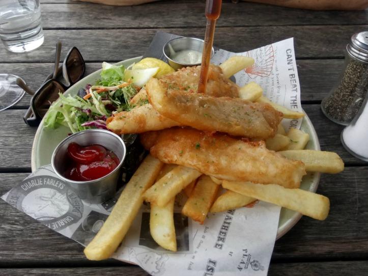 Waiheke Island Fish and Chips