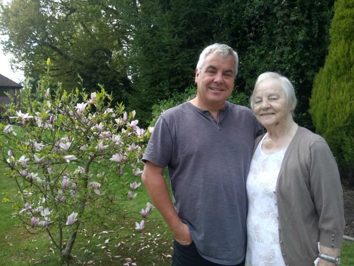 Jonno and Mum
