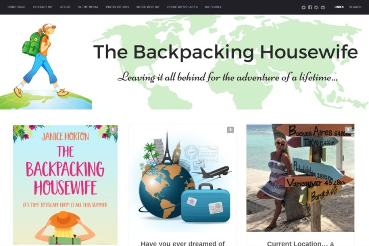 Blog of the Week - Backpacking Housewife