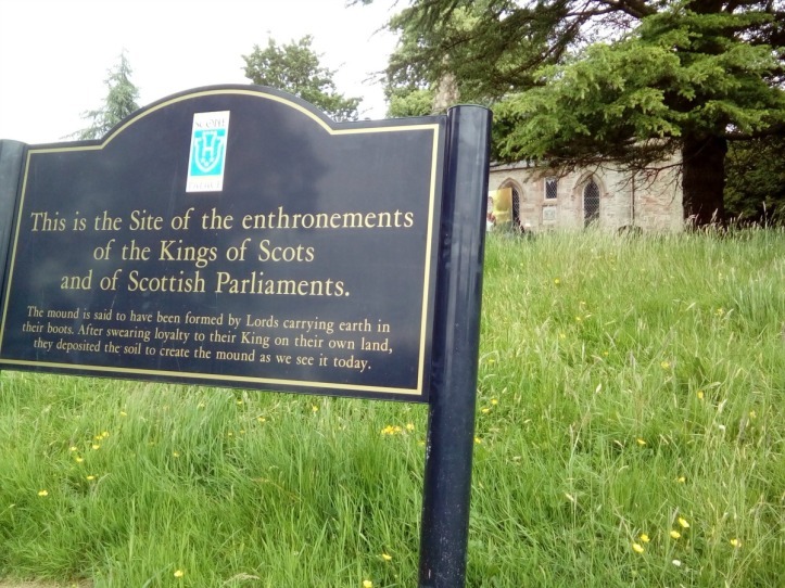 Scone Palace Moot Hill