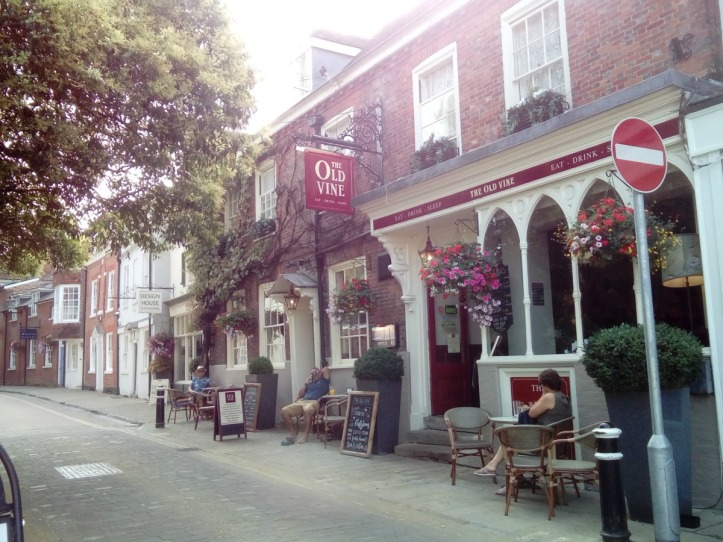 The Old Vine Inn Winchester