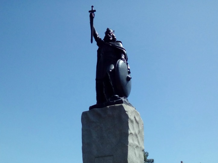 King Alfreds statue