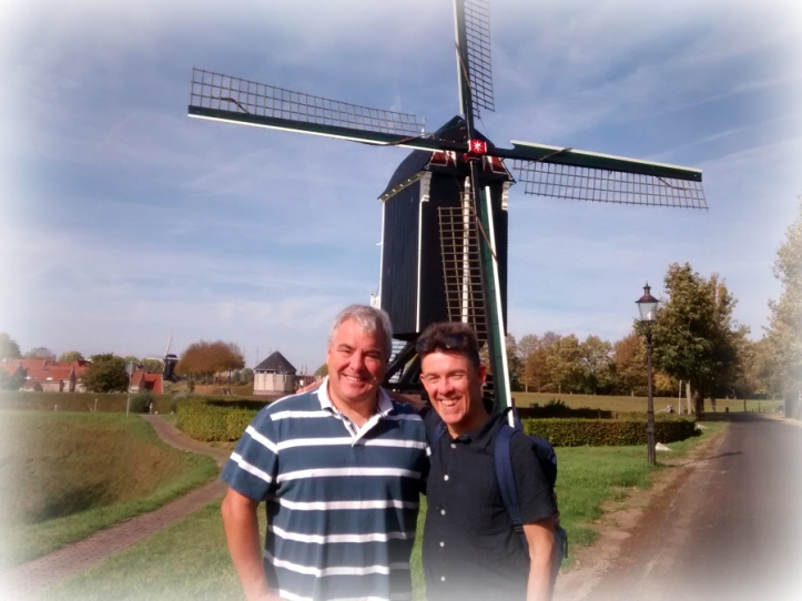 Nijmegen with Andy