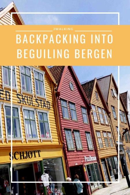Pinterest Backpacking into beguiling bergen