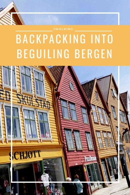 Pinterest Backpacking into beguiling bergen