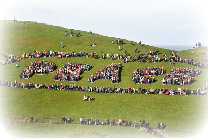 Ilfracombe Living Letters Peace