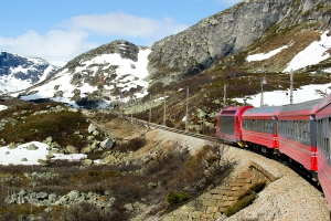 Bergen Railway from Oslo to Bergen