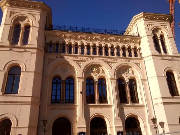 Oslo Nobel Peace Prize building