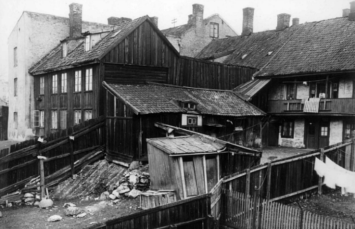 Oslo - Old photo of Pipervika